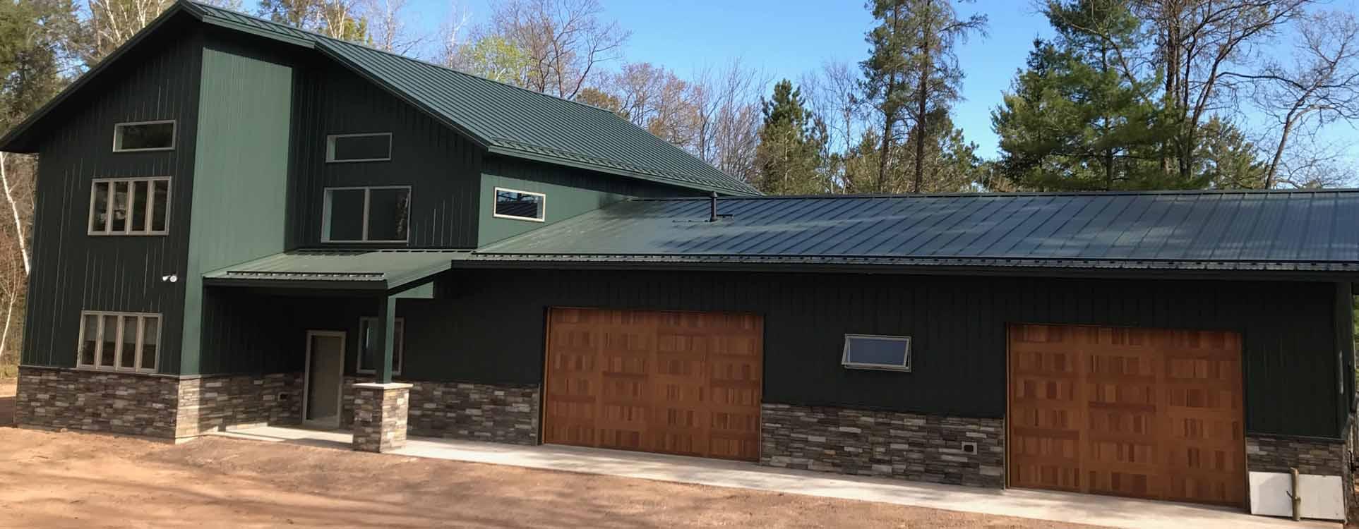 Hayward wisconsin home builders northwest wisconsin for Residential home builder